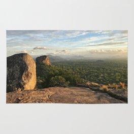 Sigiriya from afar Rug