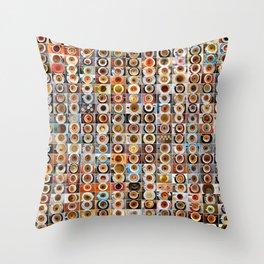2012 in Empty Demitasse Throw Pillow