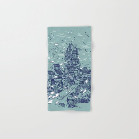 The Deep Hand & Bath Towel
