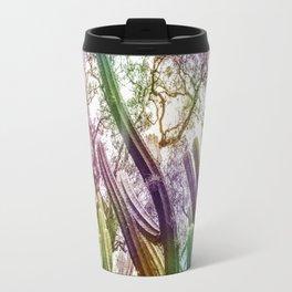 Rainbow Cactus Travel Mug