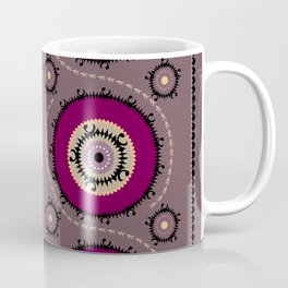 Central Asian Pattern Coffee Mug