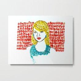 Taylor S Fruity Pebbles Art Metal Print