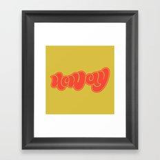 neway Framed Art Print