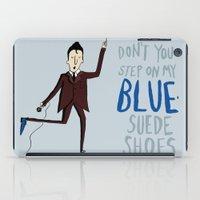 elvis iPad Cases featuring Elvis by Emily Mackenzie
