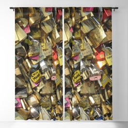 Love Padlocks Blackout Curtain