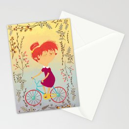 The Girl on the Bike, Stationery Cards