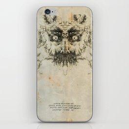 Skulloid I iPhone Skin