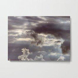 Twisted Cloud Metal Print