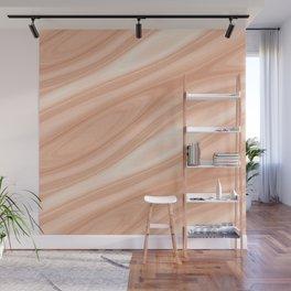 Cedar Wood Surface Texture Wall Mural