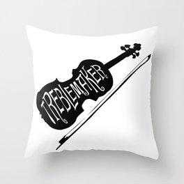 Treblemaker Throw Pillow
