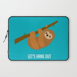 Let's Hang Out Laptop Sleeve