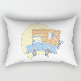 Go Exploring Rectangular Pillow