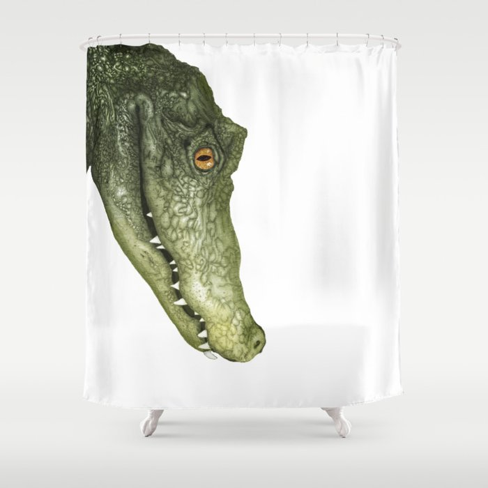 See You Later Alligator Shower Curtain, Alligator Shower Curtain