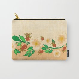 Abstract roses background Carry-All Pouch