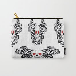 gothic skull Carry-All Pouch