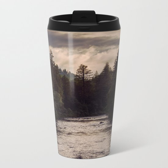 River Reflections Metal Travel Mug