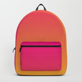 Ombre | Color Gradients | Gradient | Two Tone | Pink | Orange | Backpack