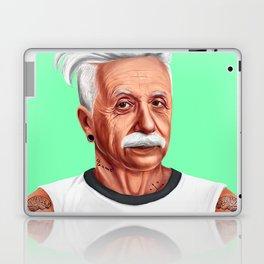 Hipstory -  Albert Einstein Laptop & iPad Skin