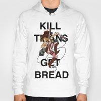 teen titans Hoodies featuring Kill Titans, Get Bread by Octoroxxx
