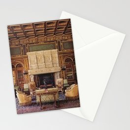 Newport Mansions, Rhode Island - The Breakers Grand Library by Jeanpaul Ferro Stationery Cards