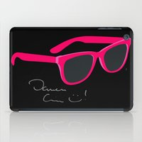 darren criss iPad Cases featuring Darren Criss Glasses by byebyesally