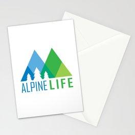 Alpine Life Stationery Cards