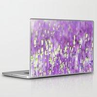 lavender Laptop & iPad Skins featuring Lavender by Paula Belle Flores
