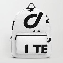 I Teach Tiny Humans Teacher Gifts Backpack