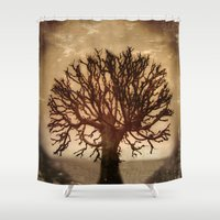 crown Shower Curtains featuring Crown by Armine Nersisian
