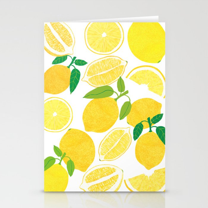 Lemon Harvest Stationery Cards