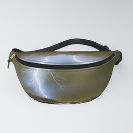 Into the Arizona Monsoon Evening Fanny Pack
