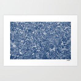 BLUE - Visothkakvei Art Print