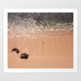 Gentle Waves Art Print