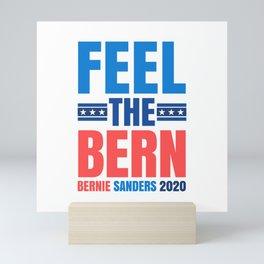 FEEL THE BERN BERNIE SANDERS 2020 Mini Art Print