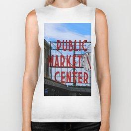 Pike Place Market Biker Tank