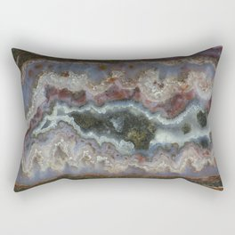 Cady Mountain Banded Agate Rectangular Pillow
