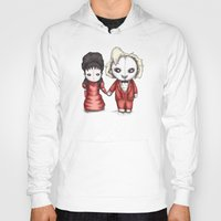 wedding Hoodies featuring Beetle Wedding by Ludwig Van Bacon