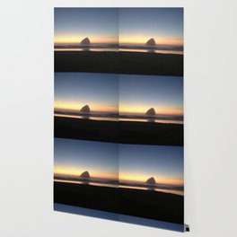 Sunset over the Pacific Wallpaper