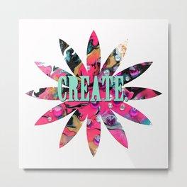 Create. Metal Print