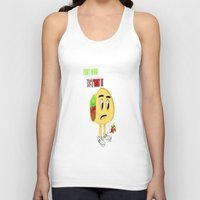 taco Tank Tops featuring Taco by Guacamole Design