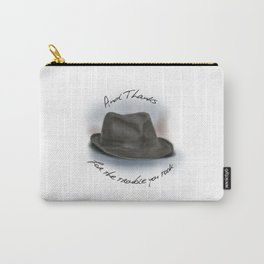 Hat for Leonard Cohen Carry-All Pouch