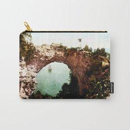 Secret Cove Vintage Seascape Carry-All Pouch