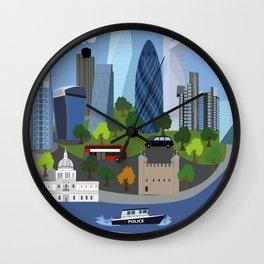 City of London Wall Clock