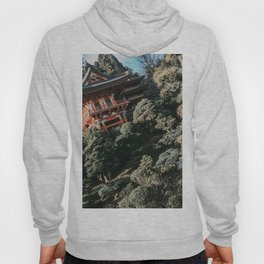 Japanese Tea Garden | San Francisco Golden Gate Park Traditional House Unique Architecture Design  Hoody