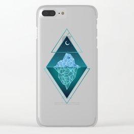 Iceberg Geometric Clear iPhone Case