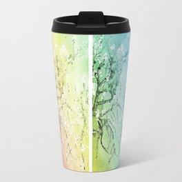Van Gogh Almond Blossoms : Pastel Rainbows Panel Art Travel Mug
