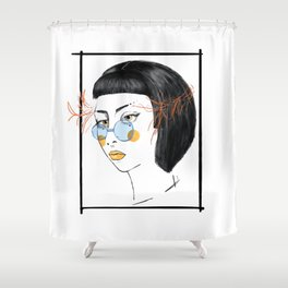 SIRIANNA Shower Curtain