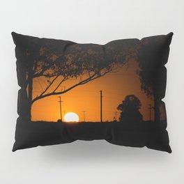 Pampas Sunset. Pillow Sham