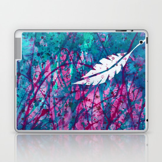 Floating Feather Laptop & iPad Skin