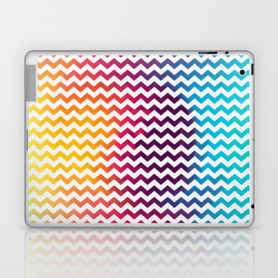 Rainbow Zoon Laptop & iPad Skin